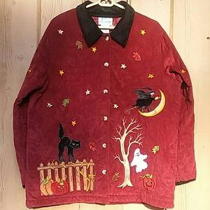 👻Vintage Quacker Factory Halloween Jacket